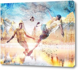 Футбол в горах