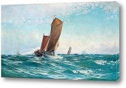 Девушка и лодка