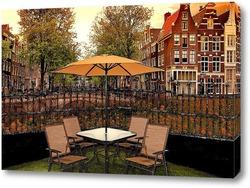 Постер Канал Амстердам
