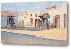 Постер Уличная сцена из Туниса