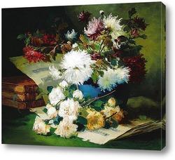 Картина художника XIX-XX веков, натюрморт