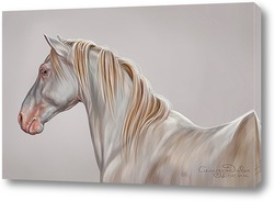 Картина Белый конь