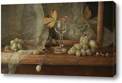 Постер осенний виноград