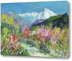 И. Левитан Горы.Италия (авторская копия)