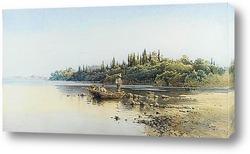 Традиционная  ветряная Мельница в Греции, Остров Закинтос