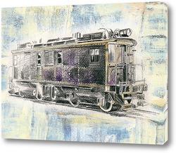 Картина Старинный поезд