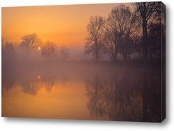 Постер Красочное,весеннее утро.