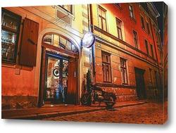Картина Вечерняя Рига