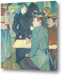 Постер Угол Мулен де ла Галетт, 1892