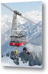 Постер Schneekanonentransport