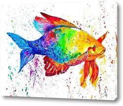 Картина Сказочная рыба