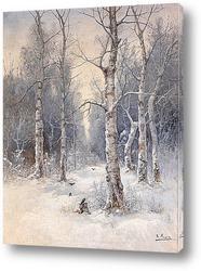 Канал Сцена Зима