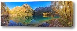 Постер Утренняя панорама озера Кардывач
