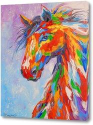 Картина Огненная лошадь
