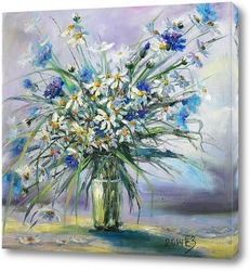 Постер Луговые цветы