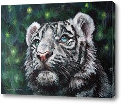 Картина Тигр и светлячки
