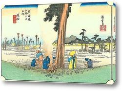 Картина 29-я станция:Хамамацу.