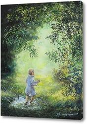 Постер Радость летнего дождя