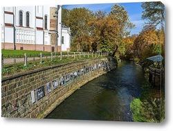 Постер Картины у реки