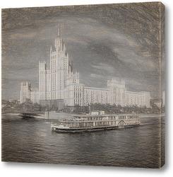 Постер Дом на Котельнической набережной.