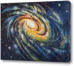 """Постер Картина: """"Спиральная галактика"""""""