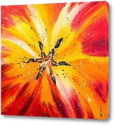 Картина Сердце тюльпана