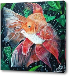 Картина Золотая рыбка.