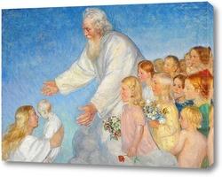Картина Наш Господь принимает ребенка