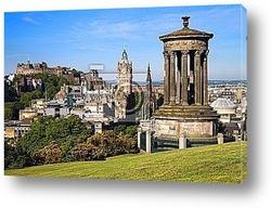 Постер Edinburgh Summer City and Castle View