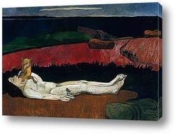 Картина Потеря девственности.1891