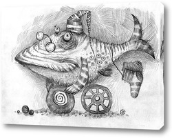 Постер Мудрый рыб
