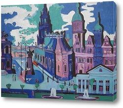 Постер Вид на Дрезден