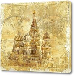 Постер Храм в Москве