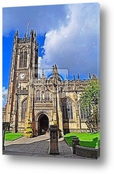 Постер Manchester Cathedral - England