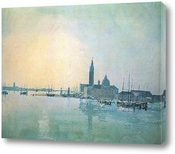 Венеция: Dogana и Сан-Джорджо Маджоре