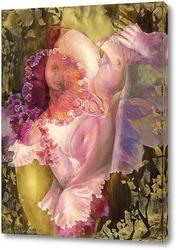 Розовая орхидея №1