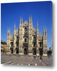 Milan, Italy. View on Royal Palace - Palazzo Realle