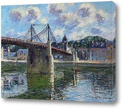 Картина Подвесной мост