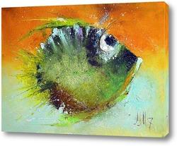 Картина Green fish