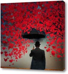 Постер Бумажные сердца