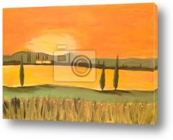 Acrylic Tuscany