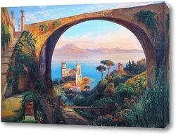 Картина Вид с Везувия