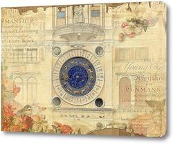 Постер Астрологические часы