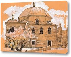 Картина Измаил. Здание старой мечети.