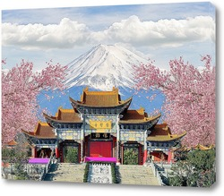 Постер  Монастырь Чонгшэн