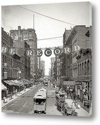 Постер Чикаго, штат Иллинойс, 1900