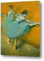 Танцовщицы у станка, 1900