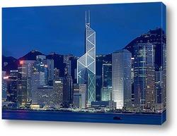 Вечерняя панорама Китая