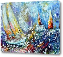 Картина Abstract sea