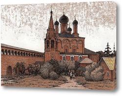 Картина На Крутицком подворье, г.Москва